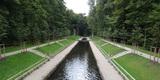 Die Wälle am Kanal zwischen Steinerner Brücke und Mönch nach der Restaurierung. © 2018 Betrieb für Bau und Liegenschaften Mecklenburg-Vorpommern