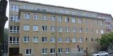 So sah die unsanierte  Fassade des Labortrakts mal aus. © 2017 Betrieb für Bau und Liegenschaften Mecklenburg-Vorpommern