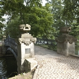 Blick auf die Brücke die zu Liebesinsel führt.. © 2017 Betrieb für Bau und Liegenschaften Mecklenburg-Vorpommern