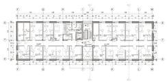 Seminar-/Verwaltungsgebäude - Grundriss 2. Obergeschoss © 2017 HWP Planungsgesellschaft mbH  Stuttgart