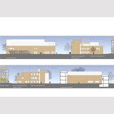 Ansichten Neubau Forschungscluster IIIa © 2016 tönis + schroeter + jansen freie architekten gmbh  Lübeck