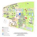 Masterplan Gesamt-Campus mit Kennzeichnung des Baufeldes Forschungscluster IIIa © 2017 Betrieb für Bau und Liegenschaften Mecklenburg-Vorpommern