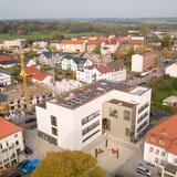 Horizont  Stadtbild und Labor- und Seminargebäude - Luftbild vom 17. Oktober 2017. © 2017 Betrieb für Bau und Liegenschaften Mecklenburg-Vorpommern