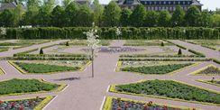 Apfelblüte nach Fertigstellung © 2017 Betrieb für Bau und Liegenschaften Mecklenburg-Vorpommern