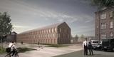 Weitere Visualisierung des Neubaus. © 2018 Architekten Bastmann und Zavracky GmbH  Rostock