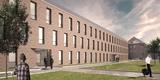 Visualisierung des Neubaus © 2018 Architekten Bastmann und Zavracky GmbH  Rostock