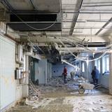 Während der Umbaumaßnahmen © BL + JLS Planungsgemeinschaft  Schwerin