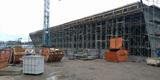 Neubau Feuerwehr Marinestützpunkt Rostock Hohe Düne wird gerichtet © 2018 Betrieb für Bau und Liegenschaften Mecklenburg-Vorpommern
