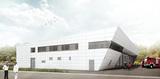 Visualisierung des Neubaus. © 2017 struhk architekten  Braunschweig