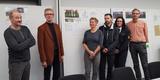 Die Jury - v.l.n.r. Robert Günther  Dr. Dirk Blübaum  Anne Hille  Bernd Engler  Mandy Collet und Stephan Aufdermauer © 2018 Betrieb für Bau und Liegenschaften Mecklenburg-Vorpommern