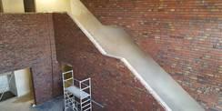 Blick auf die Treppe © 2018 Betrieb für Bau und Liegenschaften Mecklenburg-Vorpommern
