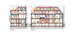 Gebäudeschnitt © 2018 milatz.schmidt architekten gmbh Neubrandenburg