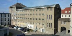 Die Fassaden vor der Herrichtung. © 2019 Betrieb für Bau und Liegenschaften Mecklenburg-Vorpommern