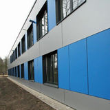 Ansicht der Fassade © 2019 Betrieb für Bau und Liegenschaften Mecklenburg-Vorpommern