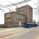 Gut erreichbar. Die Rostocker Straßenbahn AG wird eine neue Haltestelle vor dem Behördenzentrum einrichten. © 2019 Betrieb für Bau und Liegenschaften Mecklenburg-Vorpommern