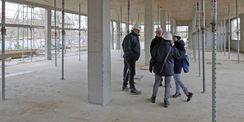 Baustellenrundgang. Das Staatliche Bau- und Liegenschaftsamt Rostock setzt das 10 1 Millionen Euro umfassende Bauprojekt um. © 2020 Staatliches Bau- und Liegenschaftsamt Rostock