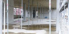 In das Bauprojekt fließen Mittel aus dem Landehaushalt M-V. Die Europäische Union fördert aus dem Programm EFRE ca. zwei Drittel der Gesamtbaukosten. © 2020 Staatliches Bau- und Liegenschaftsamt Rostock