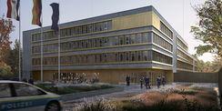 Visualisierung des Entwurfes der Bahl Architekten BDA aus Hagen - 3. Preis © 2020  Bahl Architekten BDA aus Hagen