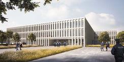 Visualisierung des Entwurfes der SEHW Architekten GmbH aus Berlin  ndash; 2. Preis © 2020   SEHW Architekten GmbH Berlin