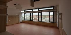 Fast fertig: Zimmer für Patienten im 3. Obergeschoss. © 2020 Christian Hoffmann  FM MV
