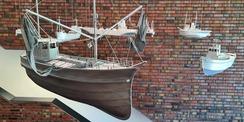 Schiffsmodelle aus Aluminiumguss © 2020 Staatliches Bau- und Liegenschaftsamt Neubrandenburg