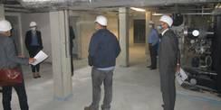 Das Kellergeschoss des Forschungsgebäudes ist überwiegend der Unterbringung Technischer Anlagen und Ausrüstungen vorbehalten © 2020 SBL Greifswald