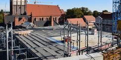 Blick über den Dächern © 2020 SBL Neubrandenburg