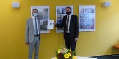 Nun ist es offiziell - Stephan Aufdermauer ist neuer Amtsleiter des SBL Greifswald © 2020 SBL Greifswald