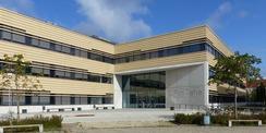 Neubau CFGM - Südseite mit Haupteingang vom Bertold-Beitz-Platz © 2020 Staatliches Bau- und Liegenschaftsamt Greifswald