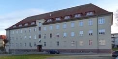 Westfassade mit Haupteingang © 2021 SBL Greifswald