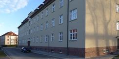 Blick aus SW auf die Haupteingangsfassade © 2021 SBL Greifswald