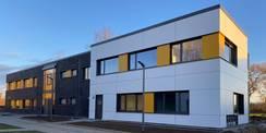 Neubau für das Bildungs- und Wissenschaftszentrum der Bundesfinanzverwaltung in Rostock- Gehlsdorf © 2021 Staatliches Bau und Liegenschaftsamt Rostock