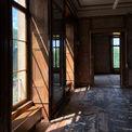 Einfältig - Sonnenstrahlen in den historischen Räume an der Westfassade. © 2018 Betrieb für Bau und Liegenschaften Mecklenburg-Vorpommern