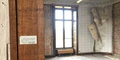 Hängen ab - Tapeten im Westflügel. © 2018 Betrieb für Bau und Liegenschaften Mecklenburg-Vorpommern