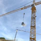 Der Richtkranz ist aufgezogen. © 2018 Betrieb für Bau und Liegenschaften Mecklenburg-Vorpommern