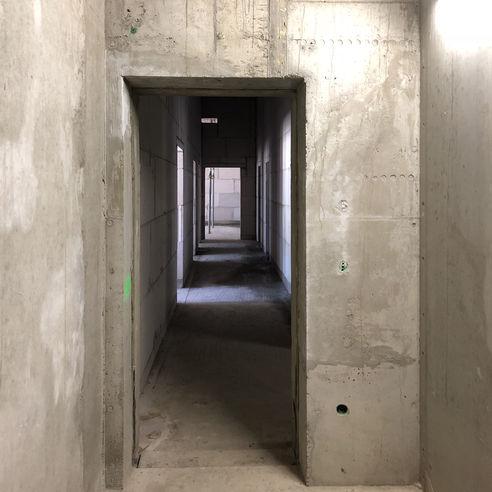 Blick in den Flur im Erdgeschoss © 2018 Betrieb für Bau und Liegenschaften Mecklenburg-Vorpommern