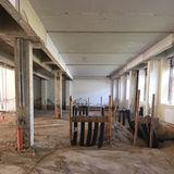 Blick in das entkernte Gebäude © 2018 Betrieb für Bau und Liegenschaften Mecklenburg-Vorpommern