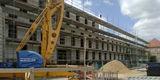 Der Rohbau des neuen Dienstgebäudes entsteht. © 2018 Betrieb für Bau und Liegenschaften Mecklenburg-Vorpommern