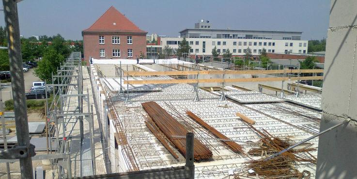 Blick von oben © 2018 Betrieb für Bau und Liegenschaften Mecklenburg-Vorpommern