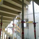 Die Betontreppe wird noch gestützt. © 2018 Betrieb für Bau und Liegenschaften Mecklenburg-Vorpommern