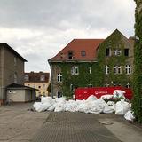 Blick auf die Baustelle © 2018 Betrieb für Bau und Liegenschaften Mecklenburg-Vorpommern