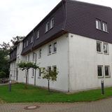 Blick auf das noch unsanierte Gebäude © 2018 Betrieb für Bau und Liegenschaften Mecklenburg-Vorpommern