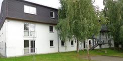 Blick auf die Ostseite des noch unsanierten Gebäudes © 2018 Betrieb für Bau und Liegenschaften Mecklenburg-Vorpommern