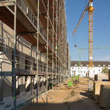 120 Meter lang  35 Meter breit und 16 Meter hoch - der Rohbau steht und wurde am 4. September 2018 gerichtet. © 2018 Betrieb für Bau und Liegenschaften Mecklenburg-Vorpommern