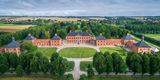 Schloss Bothmer von oben © 2018 Staatliche Schlösser  Gärten und Kunstsammlungen Mecklenburg-Vorpommern