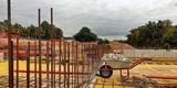 Depot und Werkstätten für das LAKD. Eine der größten Baustellen in Mecklenburg-Vorpommern. © 2018 Betrieb für Bau und Liegenschaften Mecklenburg-Vorpommern