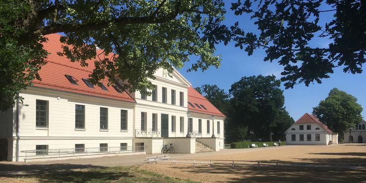 Das Landstallmeisterhaus wird am 23. September 2018 feierlich eröffnet. © 2018 Betrieb für Bau und Liegenschaften Mecklenburg-Vorpommern