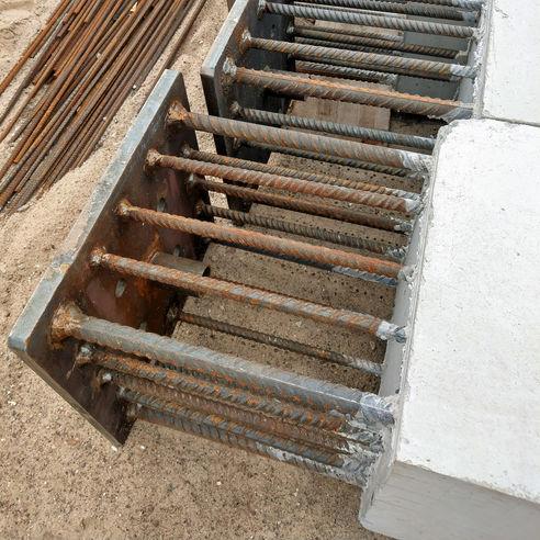 Typisch Baustelle - Bewehrter Stahl  Beton © 2018 Betrieb für Bau und Liegenschaften Mecklenburg-Vorpommern