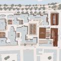 Lageplan Campus Loefflerstraße mit den Neubauten Bibliothek  Hörsaalgebäude und Cafeteria mit Ausgabemensa © Visualisierung Eßmann Gärtner Nieper Architekten Leipzig