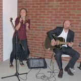 Annabelle Tiersch und Benjamin Gaube von DIE VORBAND boten Musikalische Begleitung mit Gitarre und Gesang © 2018 Betrieb für Bau und Liegenschaften Mecklenburg-Vorpommern